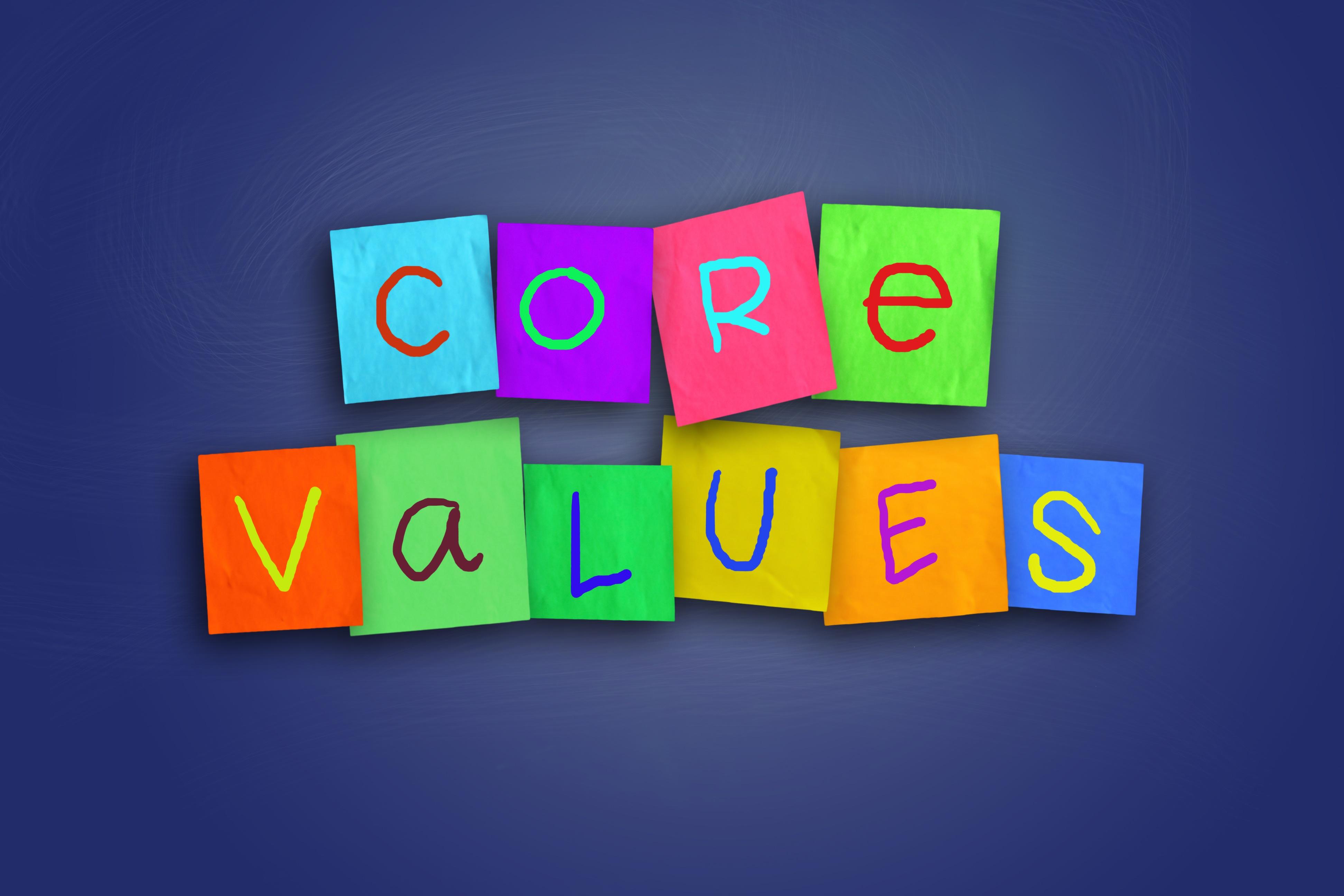 企业文化 – 企业的中心价值基础